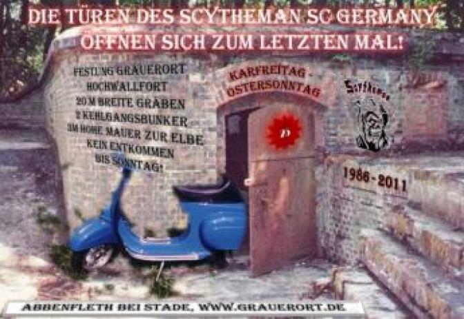 Scytheman Scooter Club Rally