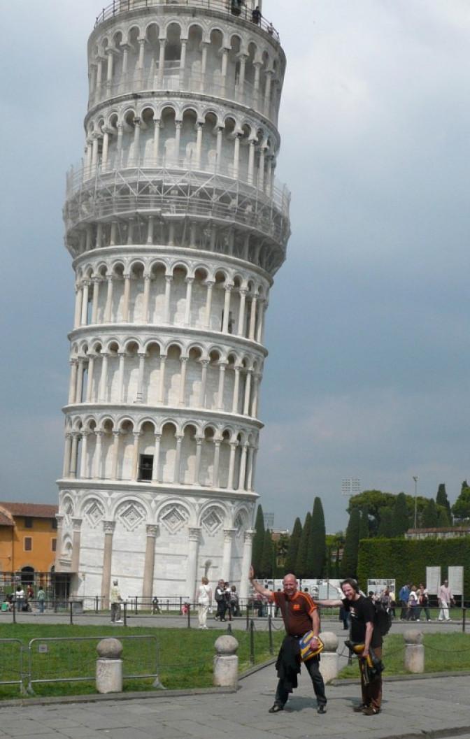 Pisa und die schiefen Typen