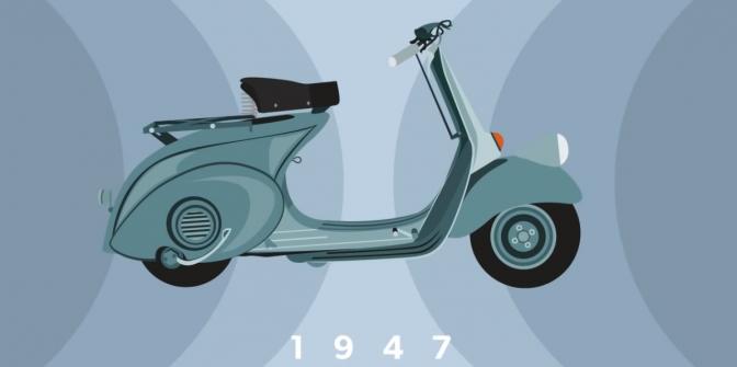 70 Jahre Vespa-Geschichte in einem Video