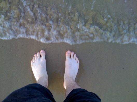 Füße-treffen-Mittelmeer
